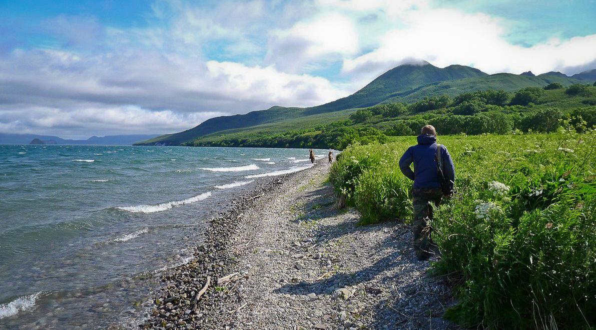 Озеро Курильское, Камчатка