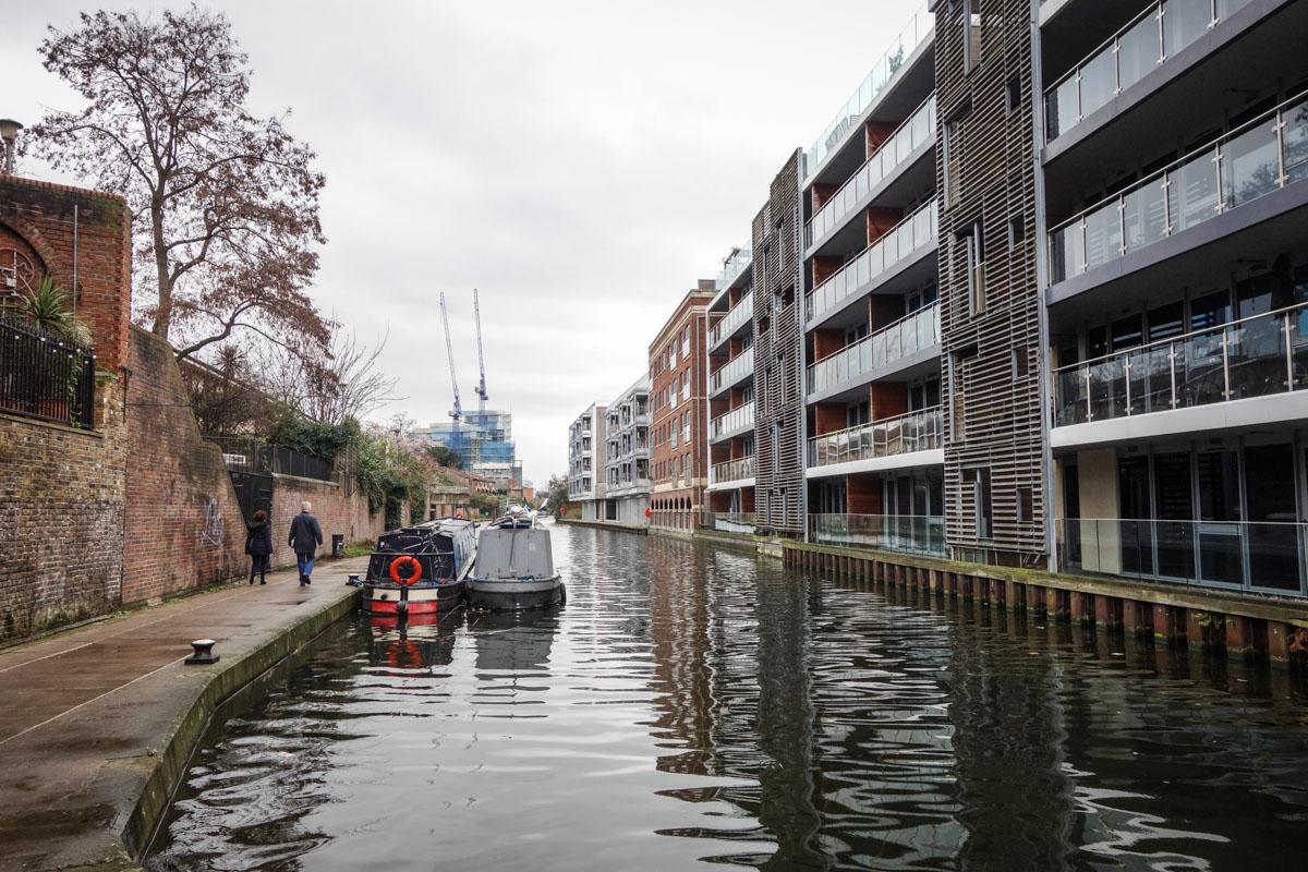 Прогулка по лондонским каналам