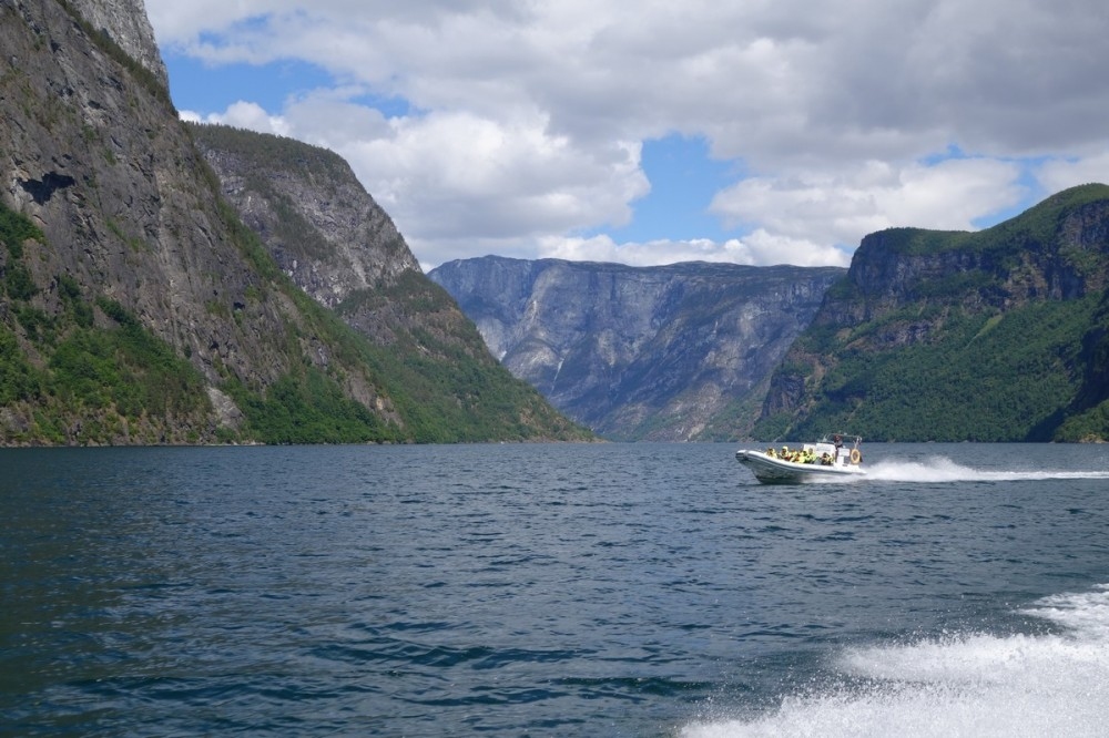 Норвегия по морю, по реке и по воздуху