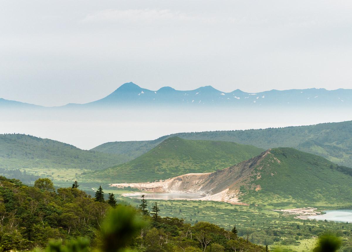 Кальдера вулкана Головнина