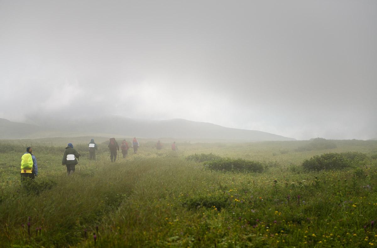 Идём на вулкан Креницына