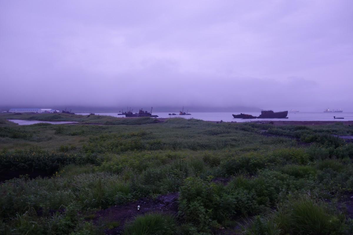 Северо-Курильский порт