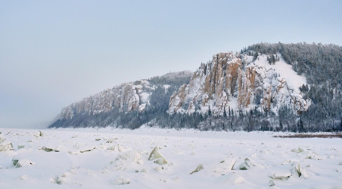 Ленские столбы: зимой и летом другим цветом. 280-8508
