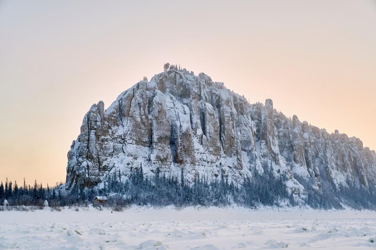 Ленские столбы: зимой и летом другим цветом. 281-8514