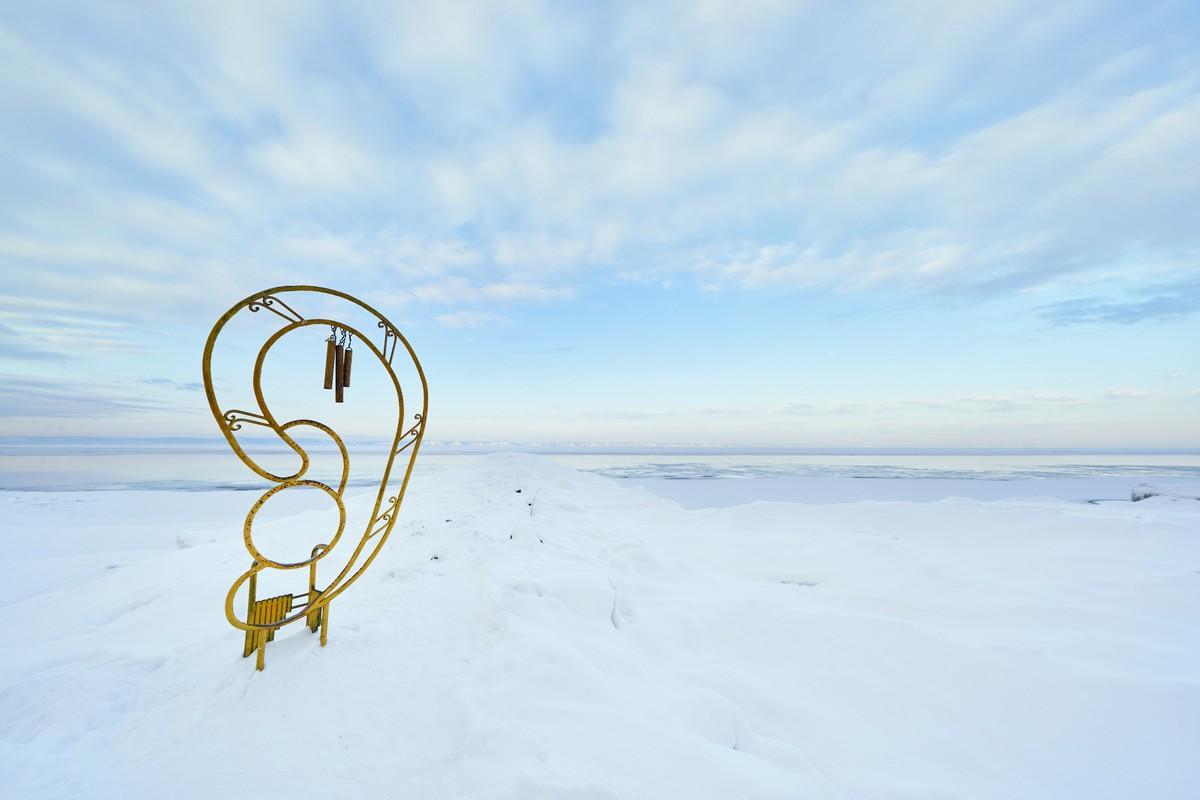 Байкал - половина пути от Магадана до Москвы. 335-8873
