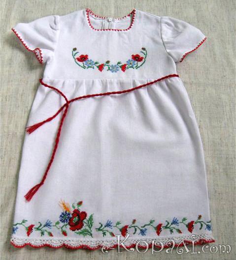 Вишиванка - урочистий одяг з перших днів. Ось таке замовляли у нас  нещодавно для хрестин  96cc59c5c7617