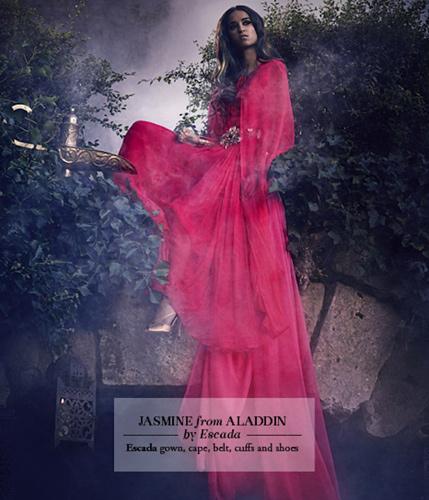 """Жасмин из """"Аладдина"""". Escada."""