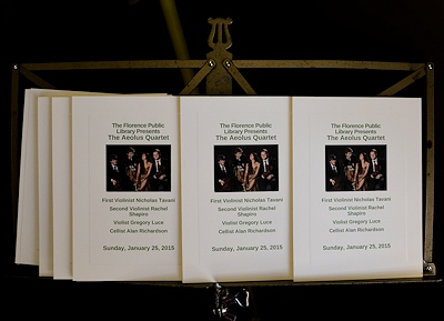 Programs for concert
