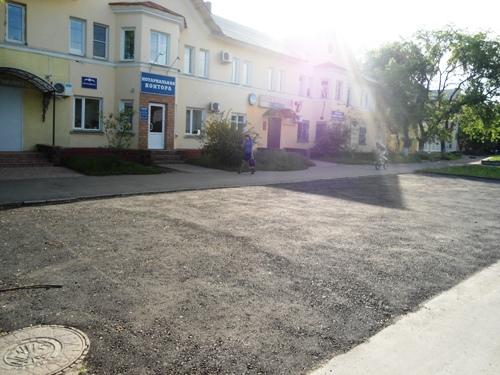 Парковка на Кр пути 131