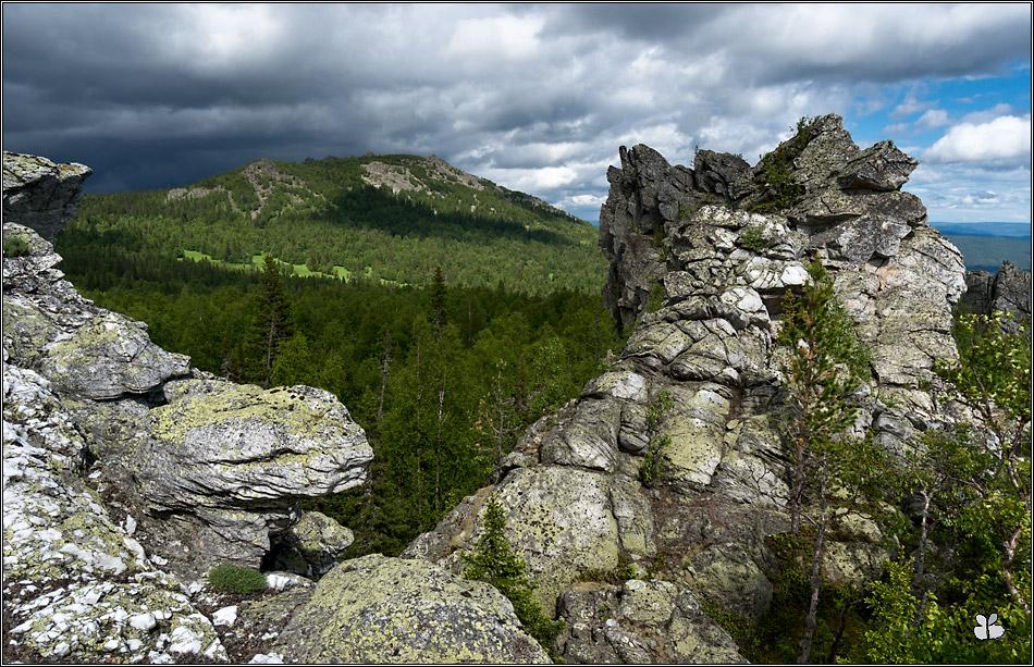 Гора Машак (вид с Нижних скал)