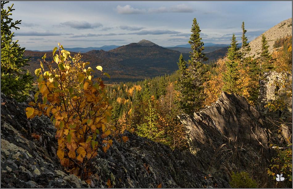 гора Большой Кумардак (вид с г. Машак)