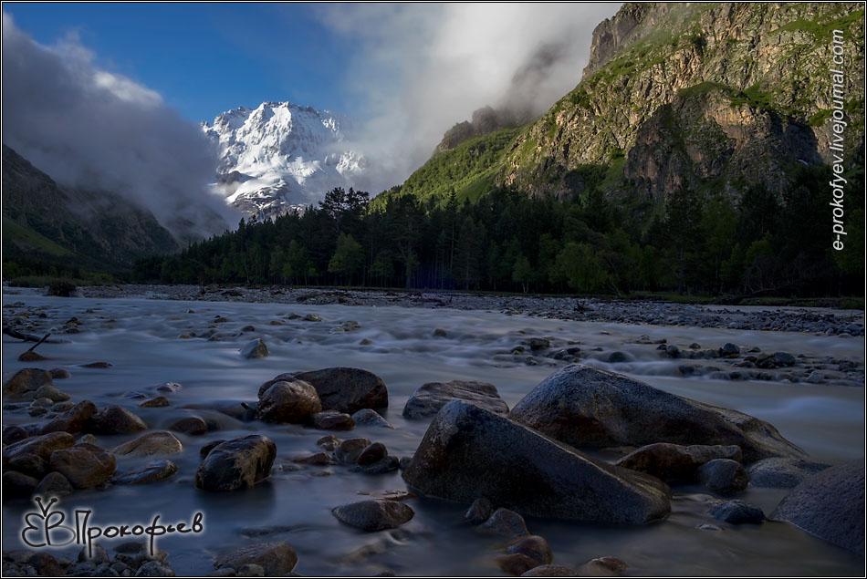 Приэльбрусье 2019. Гора Уллу-Тау и река Адыр-Су
