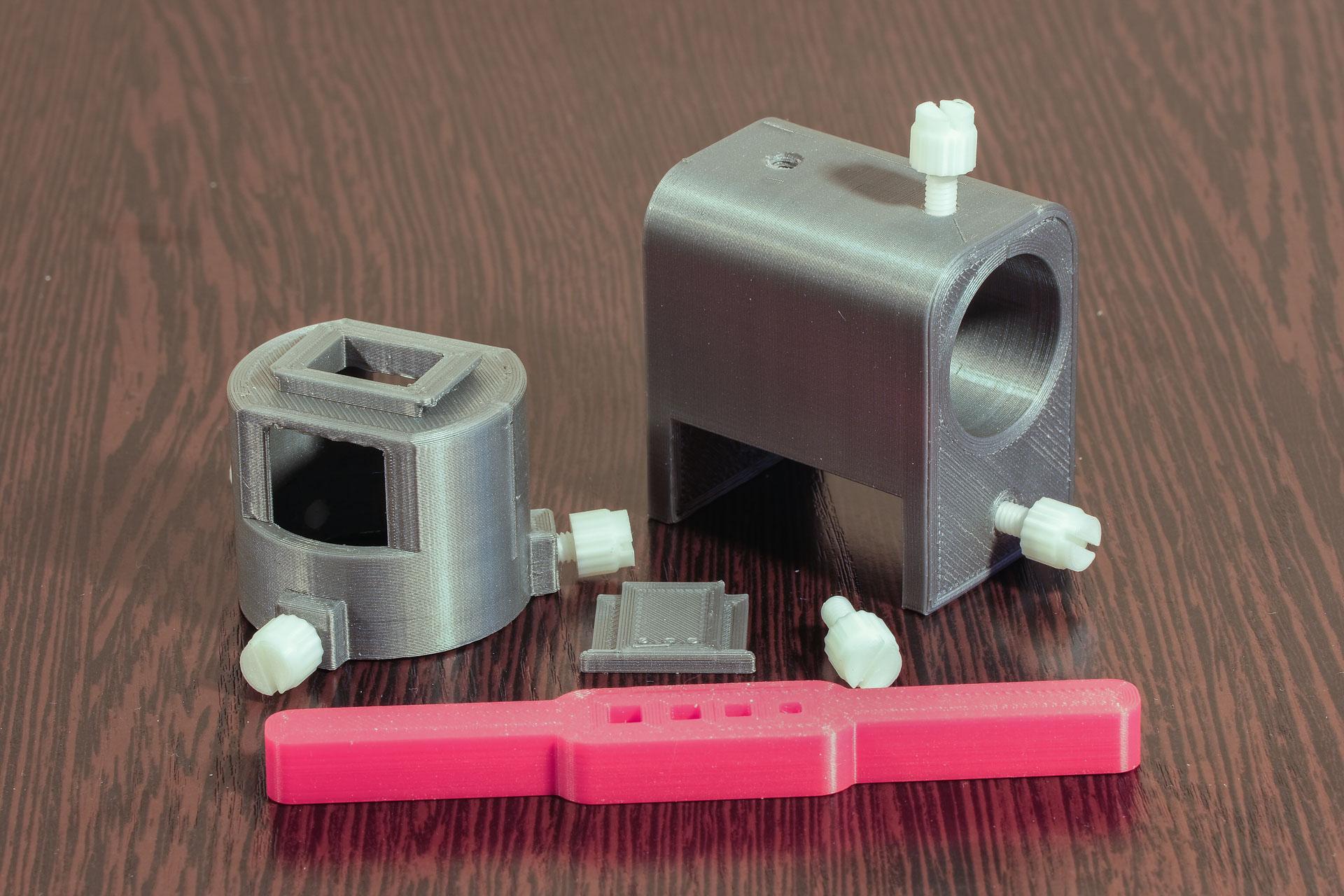 3D-печать. Напечатанные детали