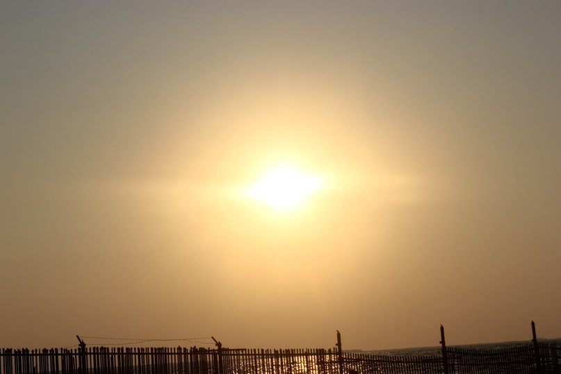 Закат на Персидском заливе