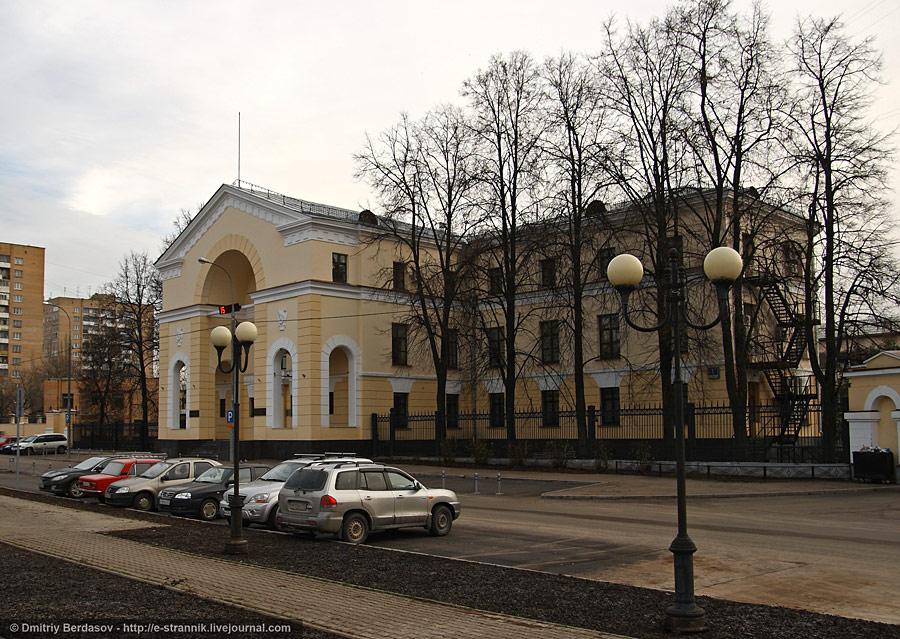 Прогулка-экскурсия по району Щукино.
