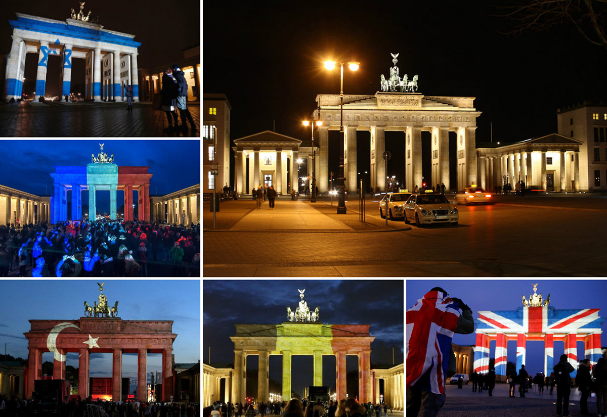 Будет ли российский триколор на Бранденбургских воротах?