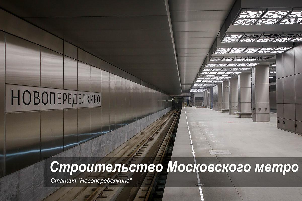 """Станция """"Новопеределкино"""""""