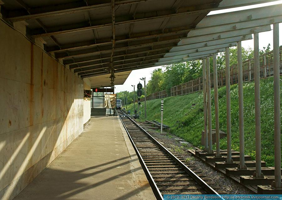 "Станция ""Багратионовская"". Филёвская линия. - Метрополитен: http://ru-metro.livejournal.com/3706684.html"