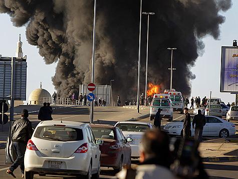 Взрывы-Ливия