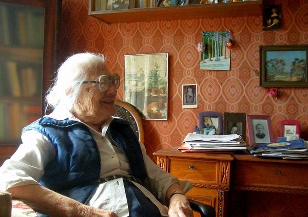 Е.И.Вощинина, 99 лет.
