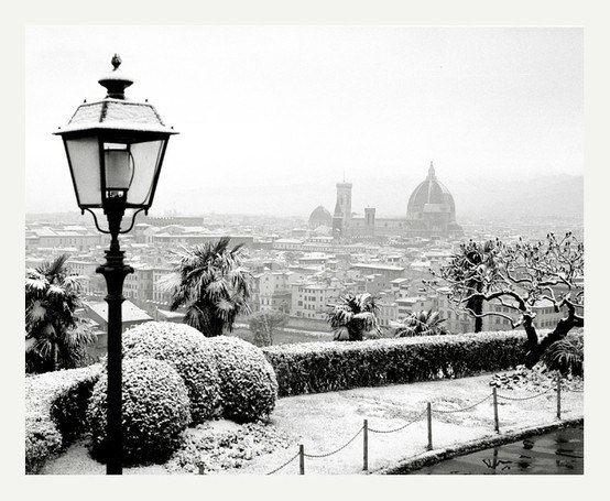 Снежная Флоренция