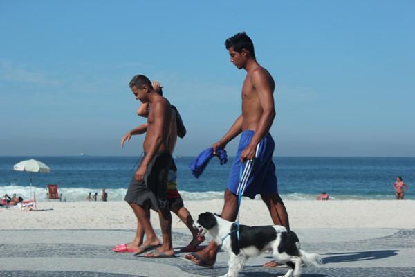 пляж Копакабана