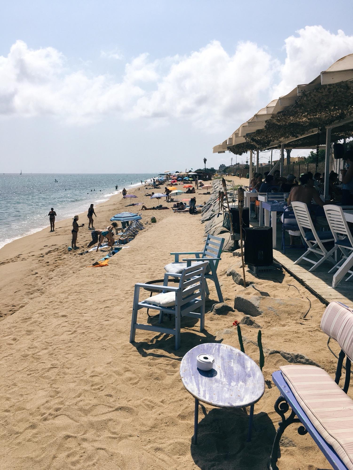 Bruma Bar en Cabrera de Mar - рекомендую!