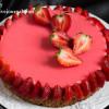 Тарт клубника-ревень с белым шоколадом