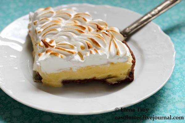 шоколадный тарт с лимонным курдом и меренгой 3_1