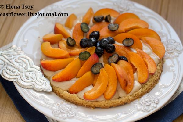 Тарт с абрикосами 2