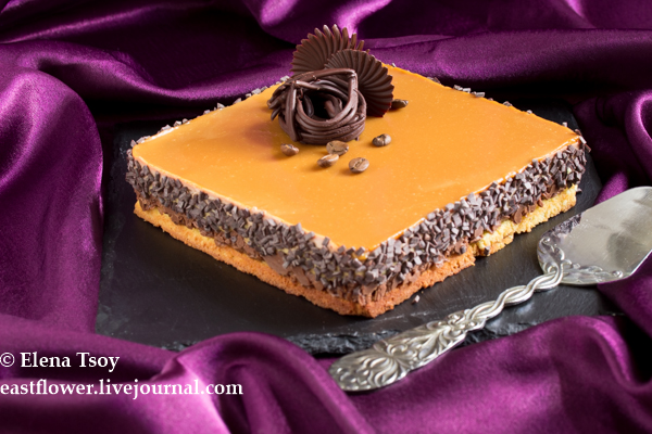 Кофейно-карамельный торт_1