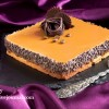 Кофейно-карамельный торт