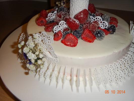 Свадебный торт2