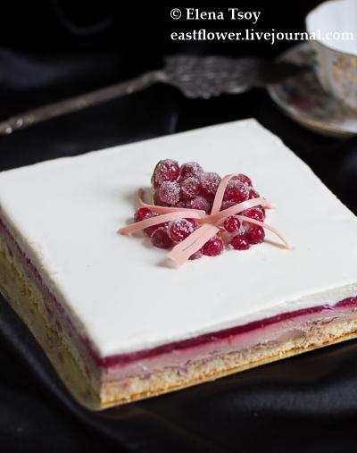 Торт Малина -Анис