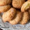 Кокосовое печенье песочное