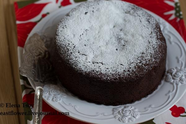 Рождественский кекс с мелассой