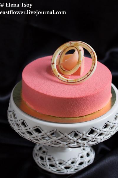 Торт малина-йогурт Ханса Овандо