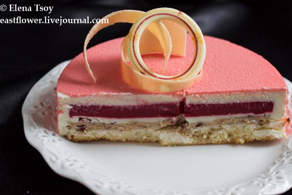 Торт малина-йогурт Ханса Овандо4