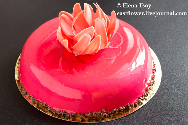 Торт малина-шоколад