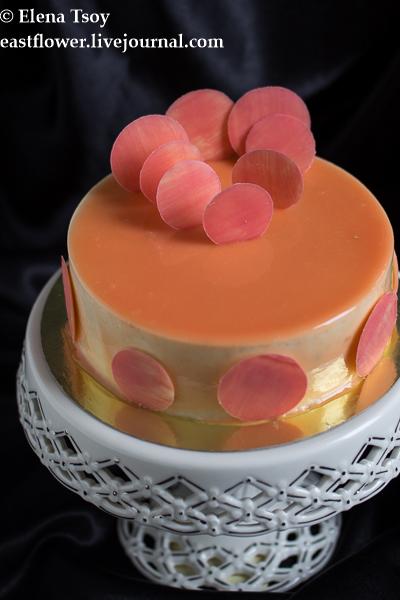 Торт - Миндаль-абрикос-