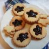 Печенье со смородиновым джемом