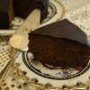 Шоколданый торт с ганашем