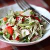 Весенний салат с овощами