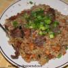 Узбекский плов с мясом