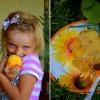 Персиковый пудинг