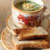 Кипрский суп с нутом и лимоном