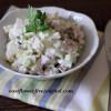 Салат с курицей, сельдереем и яблоками