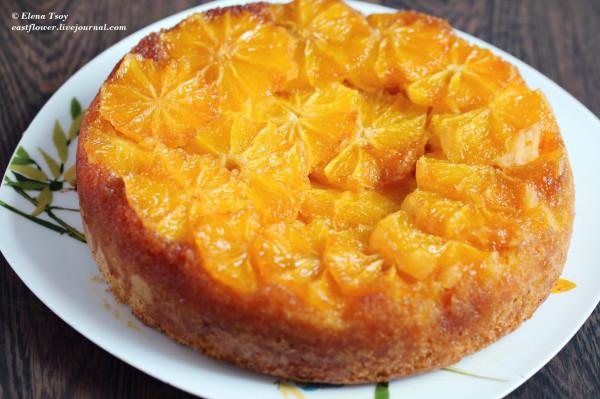 Пирог на кефире с апельсинами в мультиварке рецепты