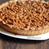 Орехово-карамельный пирог