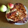 Венский сырник с яблоками